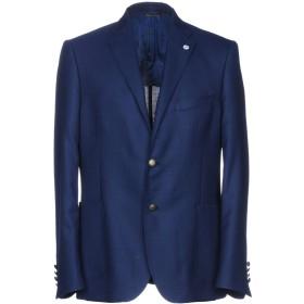《期間限定セール開催中!》ALESSANDRO GILLES メンズ テーラードジャケット ブルー 50 ウール 100%