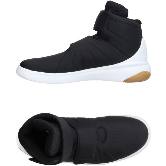 《セール開催中》NIKE メンズ スニーカー&テニスシューズ(ハイカット) ブラック 7 紡績繊維 革