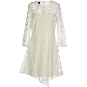 《セール開催中》TOY G. レディース ミニワンピース&ドレス ホワイト 44 ポリエステル 100%