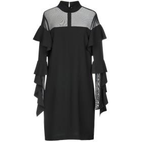 《セール開催中》PINKO レディース ミニワンピース&ドレス ブラック 44 100% ポリエステル