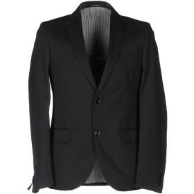 《セール開催中》DANIELE ALESSANDRINI メンズ テーラードジャケット ブラック 46 コットン 55% / ナイロン 45%