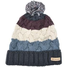 《送料無料》COLUMBIA Unisex 帽子 ダークブルー one size アクリル 100% CARSON PASS BEANIE