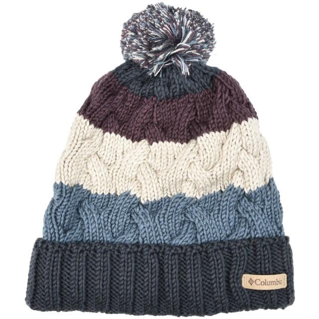 《期間限定 セール開催中》COLUMBIA Unisex 帽子 ダークブルー one size アクリル 100% CARSON PASS BEANIE