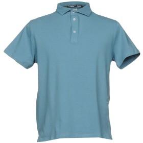 《期間限定セール開催中!》BAGUTTA メンズ ポロシャツ パステルブルー XXL 90% コットン 10% ポリウレタン