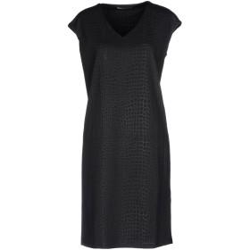 《セール開催中》AMELIE RVEUR レディース ミニワンピース&ドレス ブラック S/M ポリエステル 98% / ポリウレタン 2%