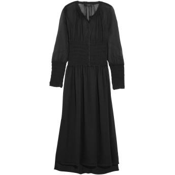 《9/20まで! 限定セール開催中》JOSEPH レディース 7分丈ワンピース・ドレス ブラック 38 100% シルク