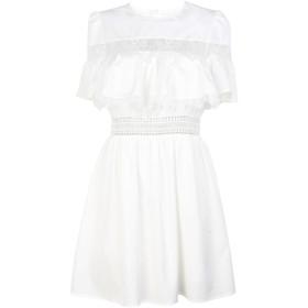 《期間限定セール開催中!》JOVONNA レディース ミニワンピース&ドレス ホワイト 14 ポリエステル 100% Tash lace insert dress