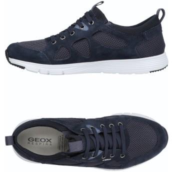 《セール開催中》GEOX メンズ スニーカー&テニスシューズ(ローカット) ダークブルー 39 紡績繊維 / 革