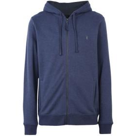 《9/20まで! 限定セール開催中》ALLSAINTS メンズ スウェットシャツ ブルー S コットン 100%