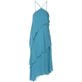 《セール開催中》HALSTON HERITAGE レディース 7分丈ワンピース・ドレス ディープジェード XS シルク 100%