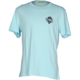 《期間限定 セール開催中》VERSACE JEANS メンズ T シャツ ライトグリーン 56 コットン 100%