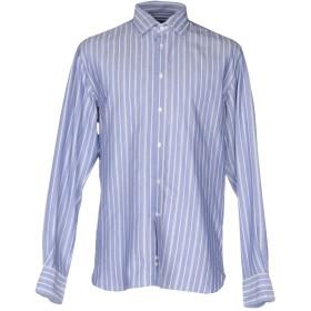《期間限定セール開催中!》REGIMENTAL メンズ シャツ ブルー 5 コットン 100%