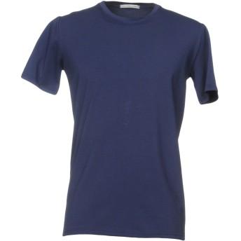 《セール開催中》GREY DANIELE ALESSANDRINI メンズ T シャツ ダークブルー S 90% コットン 10% ポリウレタン