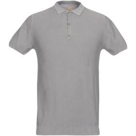 《期間限定 セール開催中》KAOS メンズ ポロシャツ グレー S コットン 100%
