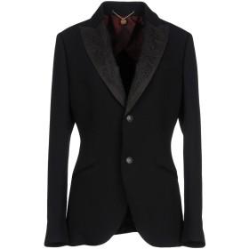 《期間限定セール開催中!》MAURIZIO MIRI レディース テーラードジャケット ブラック 44 ウール 79% / レーヨン 21%