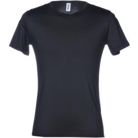 《セール開催中》MOSCHINO メンズ アンダーTシャツ ブラック XS 90% ナイロン 10% ポリウレタン