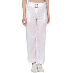 《セール開催中》,MERCI レディース パンツ ホワイト XS コットン 100%