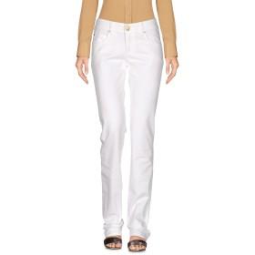 《セール開催中》ARMANI JEANS レディース パンツ ホワイト 27 98% コットン 2% ポリウレタン