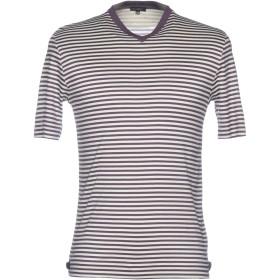 《セール開催中》CRUCIANI メンズ T シャツ ダークパープル 46 100% コットン