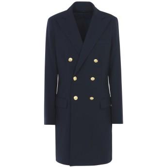 《セール開催中》POLO RALPH LAUREN レディース コート ダークブルー 2 ウール 95% / ポリウレタン 5% Double Breasted Wool Blazer