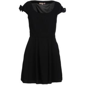《セール開催中》BETTY BLUE レディース ミニワンピース&ドレス ブラック 40 ポリエステル 100%