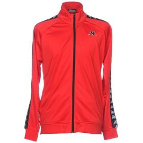 《セール開催中》KAPPA メンズ スウェットシャツ レッド S ポリエステル 100%