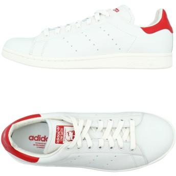 《期間限定 セール開催中》ADIDAS ORIGINALS メンズ スニーカー&テニスシューズ(ローカット) ホワイト 9 革 Stan Smith