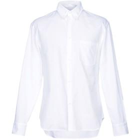 《期間限定 セール開催中》UMIT BENAN メンズ シャツ アイボリー 50 コットン 100%