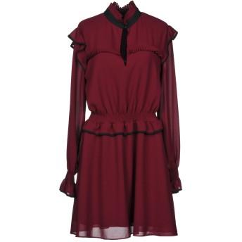 《セール開催中》PINKO レディース ミニワンピース&ドレス ガーネット 42 ポリエステル 100%