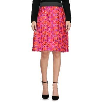 《セール開催中》DOLCE & GABBANA レディース ひざ丈スカート フューシャ 36 ポリエステル 71% / シルク 29%