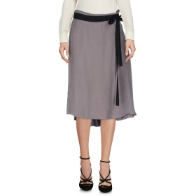 《送料無料》SU SAN NE BO M MER レディース ひざ丈スカート グレー 36 キュプラ 60% / レーヨン 40%