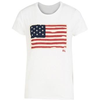 《セール開催中》POLO RALPH LAUREN レディース T シャツ ホワイト S コットン 100% Cotton Jersey Logo T-Shirt