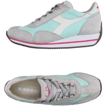 《セール開催中》DIADORA HERITAGE レディース スニーカー&テニスシューズ(ローカット) ライトグレー 3.5 紡績繊維 / 革