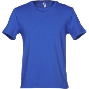 《セール開催中》MOSCHINO メンズ アンダーTシャツ ブライトブルー XS 90% コットン 10% ポリウレタン