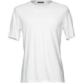 《期間限定セール開催中!》ROBERTO COLLINA メンズ T シャツ ホワイト 46 コットン 100%