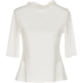 《期間限定セール開催中!》WEILI ZHENG レディース T シャツ ホワイト XS ポリエステル 100%
