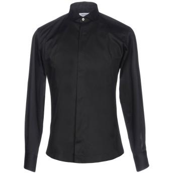《セール開催中》TAKESHY KUROSAWA メンズ シャツ ブラック S コットン 97% / ポリウレタン 3%