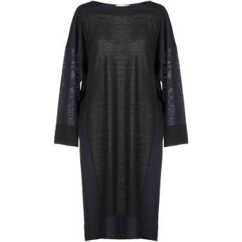 《セール開催中》LIVIANA CONTI レディース ミニワンピース&ドレス ブラック 42 バージンウール 100%