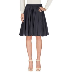 《セール開催中》IO IVANA OMAZI レディース ひざ丈スカート 鉛色 44 コットン 100%
