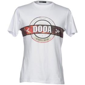 《セール開催中》DOOA メンズ T シャツ ホワイト L コットン 100%