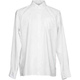《期間限定セール開催中!》R3D W D メンズ シャツ ホワイト S コットン 100%