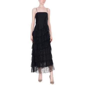 《セール開催中》ANNARITA N レディース 7分丈ワンピース・ドレス ブラック 42 ナイロン 100%