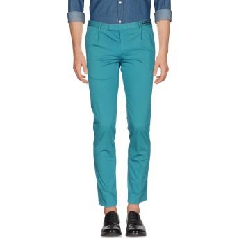 《9/20まで! 限定セール開催中》PT01 GHOST PROJECT メンズ パンツ グリーン 52 コットン 98% / ポリウレタン 2%