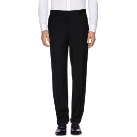 《期間限定 セール開催中》BOSS HUGO BOSS メンズ パンツ ブラック 46 バージンウール 100%