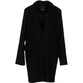 《期間限定セール中》PINKO レディース コート ブラック 46 80% バージンウール 20% ナイロン