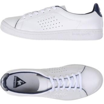 《セール開催中》LE COQ SPORTIF メンズ スニーカー&テニスシューズ(ローカット) ホワイト 40 革 ASHE PRESTIGE LEA