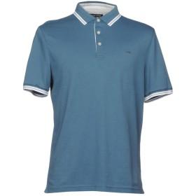 《セール開催中》MICHAEL KORS MENS メンズ ポロシャツ ブルーグレー XS 100% コットン