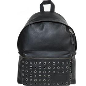 《期間限定セール開催中!》EASTPAK Unisex バックパック&ヒップバッグ ブラック 革 PADDED PAK'R BLACK EYE-LET