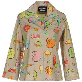 《期間限定 セール開催中》BOUTIQUE MOSCHINO レディース シャツ ベージュ 36 コットン 98% / 指定外繊維 2%