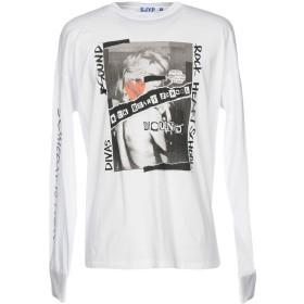 《9/20まで! 限定セール開催中》SJYP メンズ T シャツ ホワイト S コットン 100%